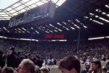 PHOTO  1987 WEMBLEY STADIUM THE OLD STADIUM WEST END AND SCOREBOARD DURING THE Y
