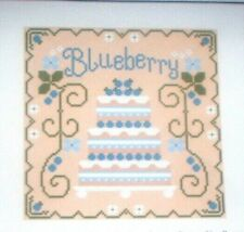 "Country Cottage Needleworks ""Blueberry Cake"" Counted Cross Stitch Kit  KM"