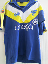 2007 Warrington Wolves Rugby League Home Shirt adult small (40008)