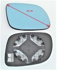 Spiegelglas rechts AUDI A6 01/97-09/99 für kleines Gehäuse blau konvex beheizbar