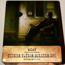 PLAIN ARCHIVE TINKER TAILOR SOLDIER SPY STEELBOOK 1/4 SLIP BLU-RAY NEW EXCELLENT