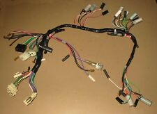 mg mgb rubber nose taped dash wiring harness sept 77 to 79 bhh2036