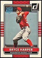 2015 Donruss Bryce Harper Hot Off The Press Parallel SP Nationals Phillies #176
