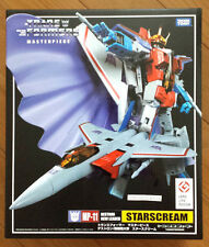 Takara Tomy Transformers Masterpiece MP11 Starscream Action Figure star scream