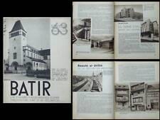 BATIR N°63 1938 VAL-BENOIT LIEGE, ARDOISE, MOUTSCHEN, PUTERS