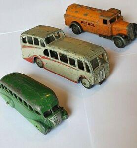 Dinky Petrol Tank Wagon/ Observation Coach/ Streamlined Bus