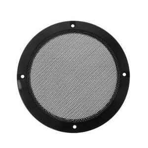 2PCS Protective Speaker Cover Steel Mesh Grille Grills Decorative Circle DIY
