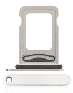 Apple iPhone 12 Pro / Pro Max Sim Card Holder Slot Sim Tray Sim DUAL Silver