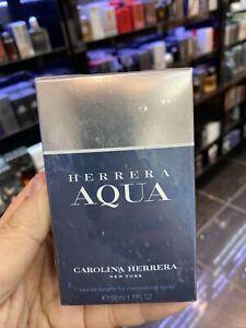 Carolina Herrera Aqua For Men EDT 50ml / 1.7oz Spray BNIB Sealed