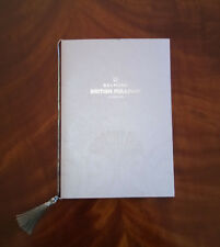 COLLECTABLE VSOE BELMOND BRITISH PULLMAN (LONDON) TRAIN MENU
