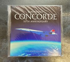 More details for 2019 supersonic concorde 50p coin set,sealed,fifty pence,bunc/unc/bu,guernsey