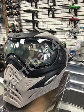 VForce Grill Paintball Goggle Mask - SE Black/Taupe With Clear Thermal Lens