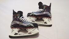 Taylor Hall Game Used Bauer Vapor 1X Pro Stock Ice Hockey Skates 9.5 E/A Devils