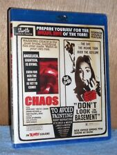 Chaos Don't LOOK in The Basement Cult Horror Double Bill Region Blu-ray