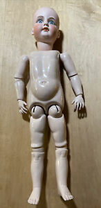 Reproduction Antique A 17 M Antique Doll-Seeley Composition Body-Nude-beautiful!
