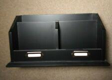 Wooden Desktop Organizer Black