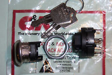 C&K Keyswitch key switch 3pole C/O contacts new high quality switch with 2 keys