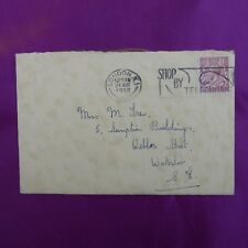 1932 Vintage Postcard Style Birthday Card 1½d Stamp Franked Shop by Telephone