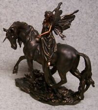 Figurine Statue Fantasy Mythology Fairy on a Unicorn New with gift box