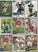 James Laurinaitis St Louis Rams Ohio State 9 card 2009 RC lot-all different