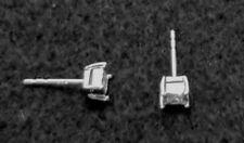 1/4 CTTW GENUINE DIAMOND Sterling Silver Trumiracle® Princess Stud Earrings $198