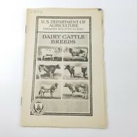 US Department of Agriculture Farmers Bulletin 1443 Dairy Cattle Breeds