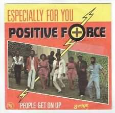 """POSITIVE FORCE Vinyl 45T 7"""" ESPECIALLY FOR YOU - PEOPLE GET ON UP - 101448 Promo"""