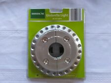 GARDENLINE UMBRELLA LIGHT NEW 28 LED LIGHTS ON EACH INDIVIDUAL LIGHT!