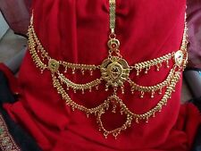 Chain India women Belt kamarband jewelry Gold saree half belt Waist Bridal Sari