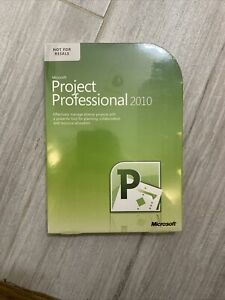 Microsoft Project 2010 Professional Version MS Pro BRAND NEW BOX Full Retail