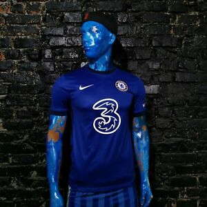 Werner Chelsea Jersey Home football shirt 2020-2021 Nike CD4230-496 Mens Size S