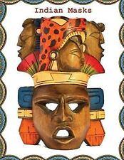 Indian Masks : Indian Masks Notebooks and Journals (Composition Book Journal)...