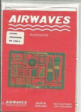 Airwaves etched metal 72-93 Focke Wulf Fw190D-9 detail set in 1:72 Scale