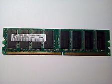 Barette mémoire SAMSUNG 512 MB PC3200U CL3