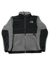 The North Face Denali Jacket Youth Boys Jacket Fleece Gray Winter Medium 10-12
