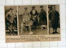 1920 Coursing With Greyhounds Aldingbourne Diapason Sir Woodman Burbidge