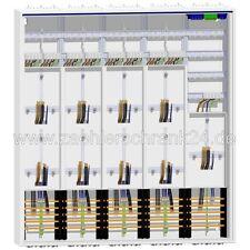Hager Zählerschrank 9 Zähler Verteiler 1400 mm ZB55S
