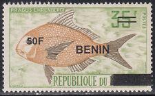 Benin MNH RARE Overprint Sc 1394  Value $ 75,oo US