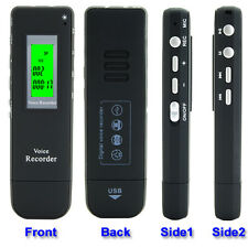 Digital Audio, Voice and Telephone recorder 2GB 560 hour MP3 USB drive portable
