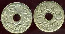 5 CENTIMES  LINDAUER  .1938.  AVEC POINTS   ( bis )