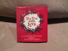 For You With Love by Louis Untermeyer, 1961, Golden Press,Hardcover with Jacket