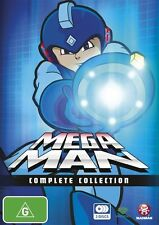 Mega Man (TV) Complete Collection NEW R4 DVD