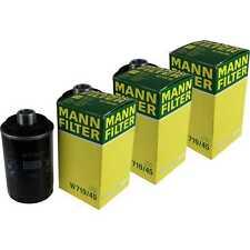 3x Original Mann-filter Oil Filter W 719/45 Oil Filter