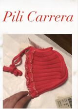 Pili Carrera Baby Red Bonnet Infant Hat NWT Size S