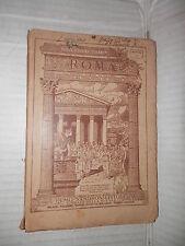 ROMA Nuovo corso di latino Guido Pasquetti Remo Sandron 1923 libro linguistica