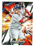 2018 Topps Fire #118 RAFAEL DEVERS RC Rookie Red Sox TARGET Retail Exclusive