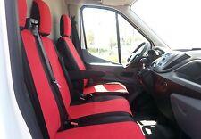 2+1 Schonbezüge + Tischbezug Passgenau Rot Neu für Ford Transit Custom 2013+