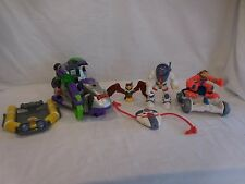 Fisher Price Rescue Heroes Space Monkey Comet Lunar Vehicle Space Pod Exploratio