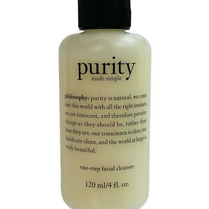 Philosophy Purity Made Simple One Step Facial Cleanser 4 oz / 20 ml