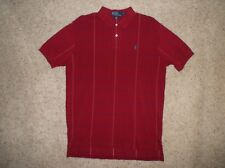 Men's POLO by Ralph Lauren cotton polo Shirt Short/Sleeve sz L